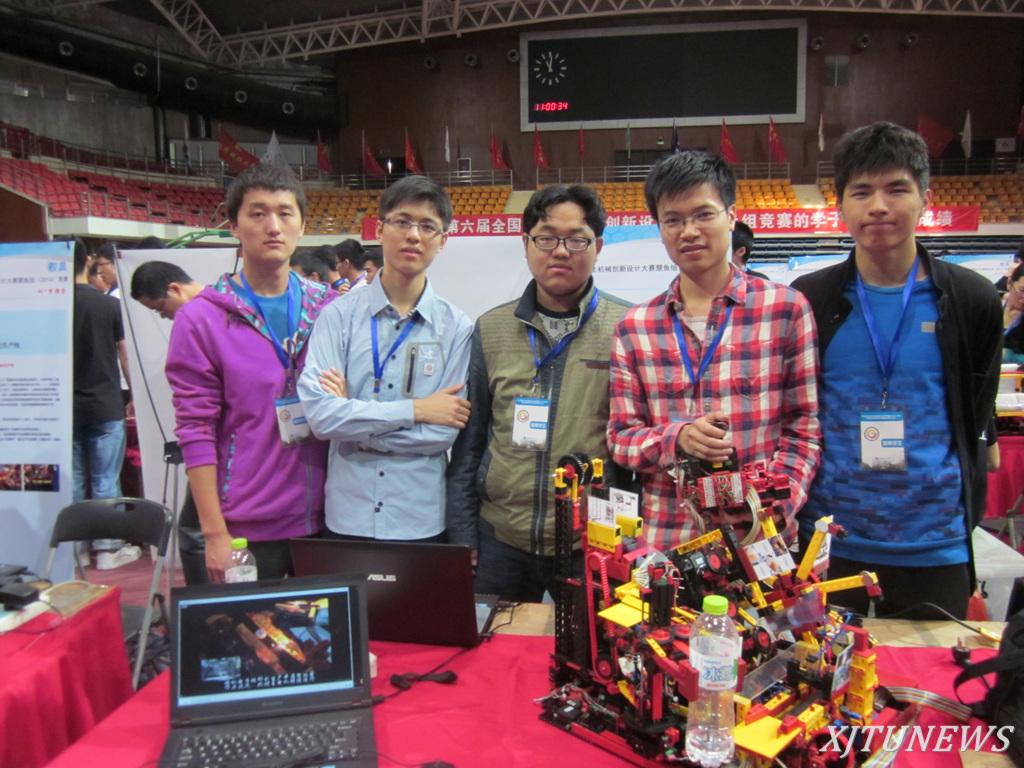 全国大学生机械创新设计大赛慧鱼组预赛西安交大再创