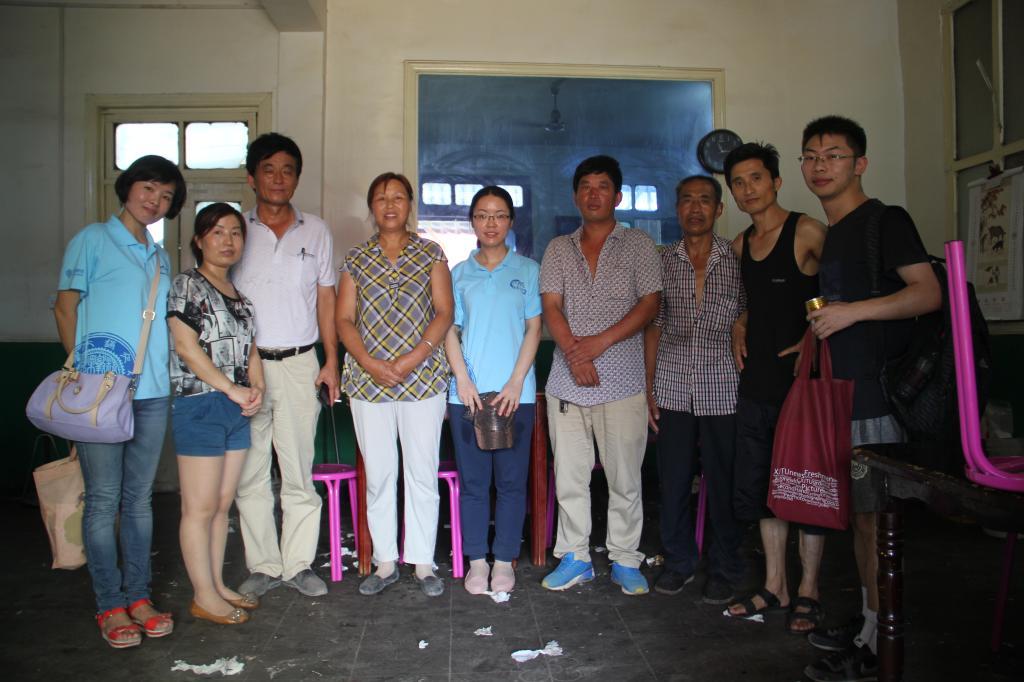 西安交大社会实践团队赴渭南市蒲