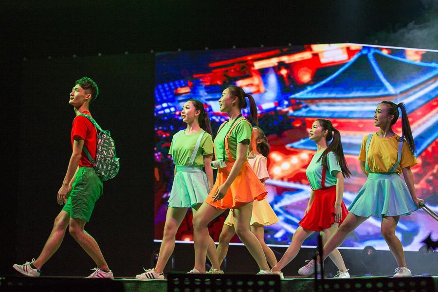 西安交通大学2016迎新晚会精彩上演