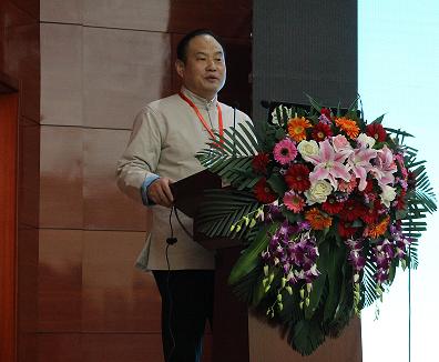 西安市副市长强晓安博士做主题分享
