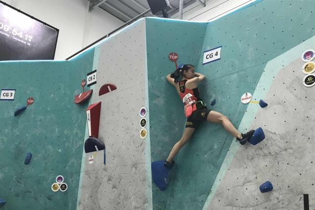 交大附中李婧瑜同学荣获亚洲少年攀岩锦标赛女子全能冠军辽宁青少频道在线直播