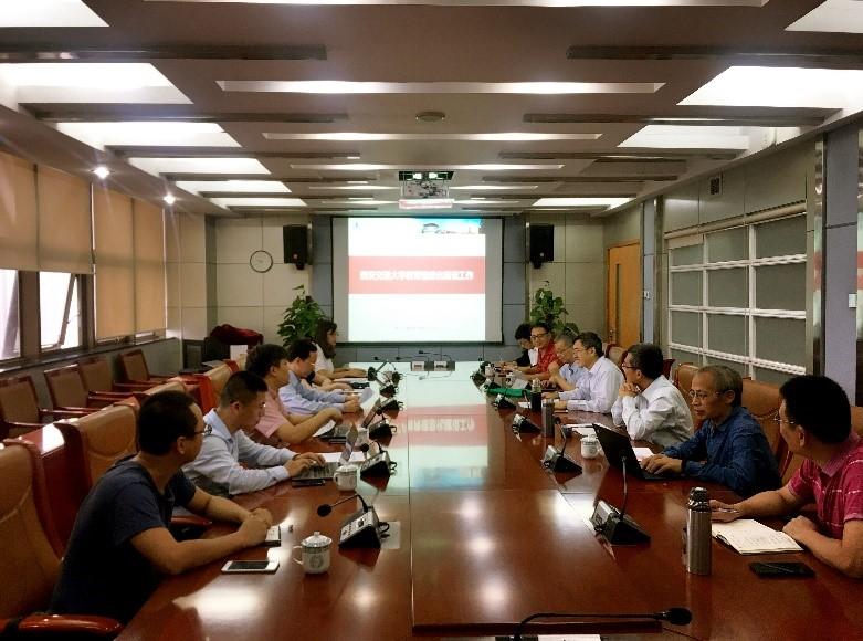 广东水利电力职业技术学院来校调研大数据信息化应用