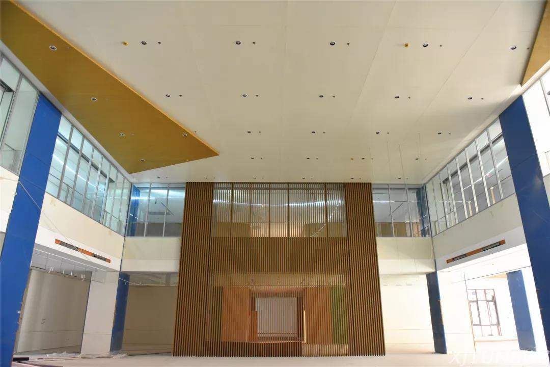 创新港科创基地内部装修基本完工