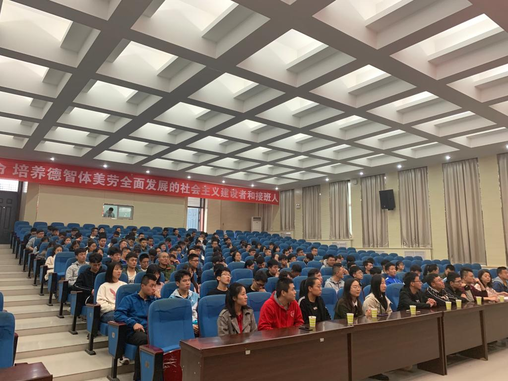材料学院研究生走进西安航空学院