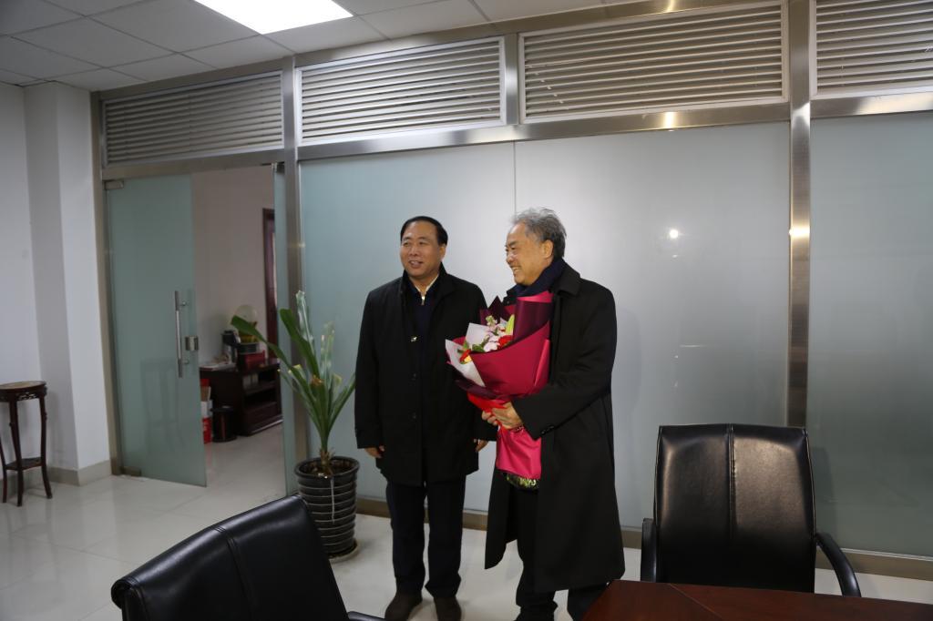 陕西省委常委、统战部长姜锋看望西安交大卢秉恒、蒋庄德院士