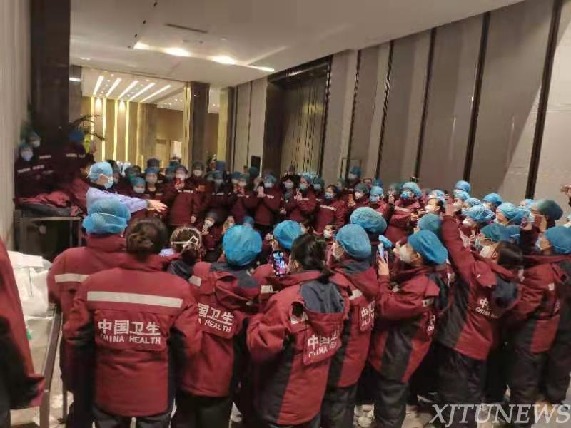 【众志成城克时艰】陕西第二批援鄂医疗队:发挥交大教学特长,狠